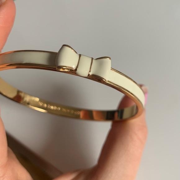 Kate Spade White Bow Bracelet